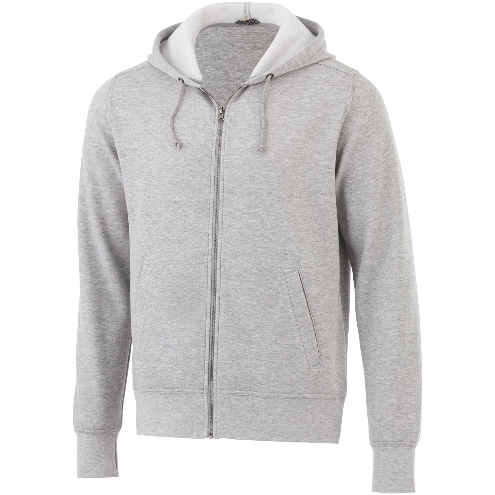 Unisex mikina na zip s kapucí Cypress - Heather Grey / XS