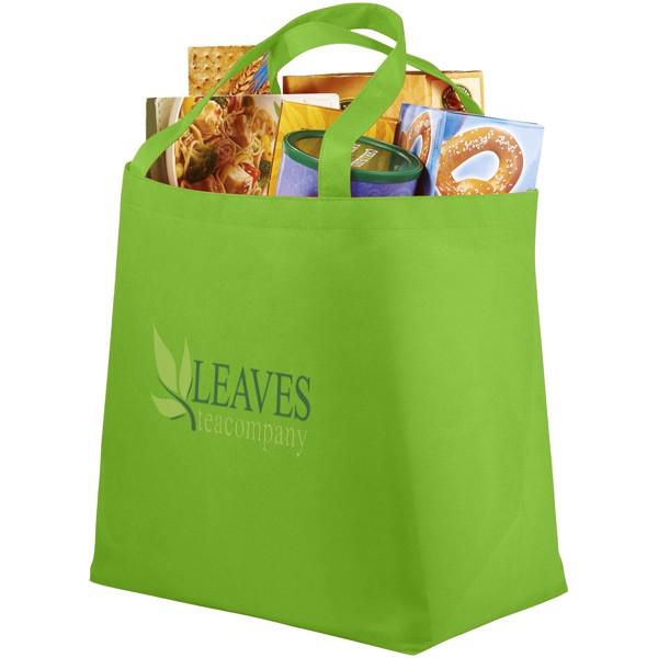 Maryville non-woven shopping tote bag - Lime