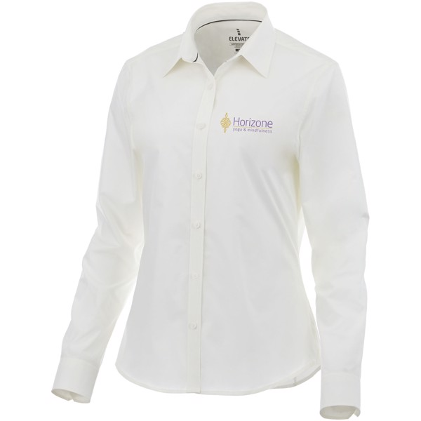 Hamell long sleeve ladies shirt - White / XS