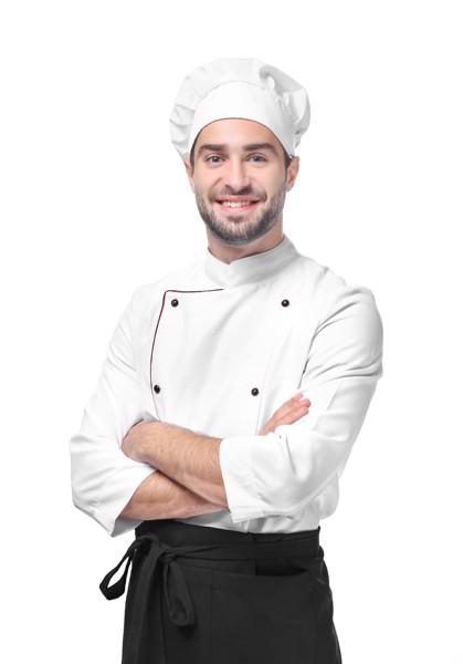 Bonetă Bucătar Nilson - Alb