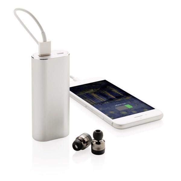 Brezžične slušalke s polnilno baterijo True 2000 mAh