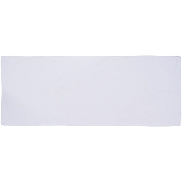 Alpha fitness towel - White