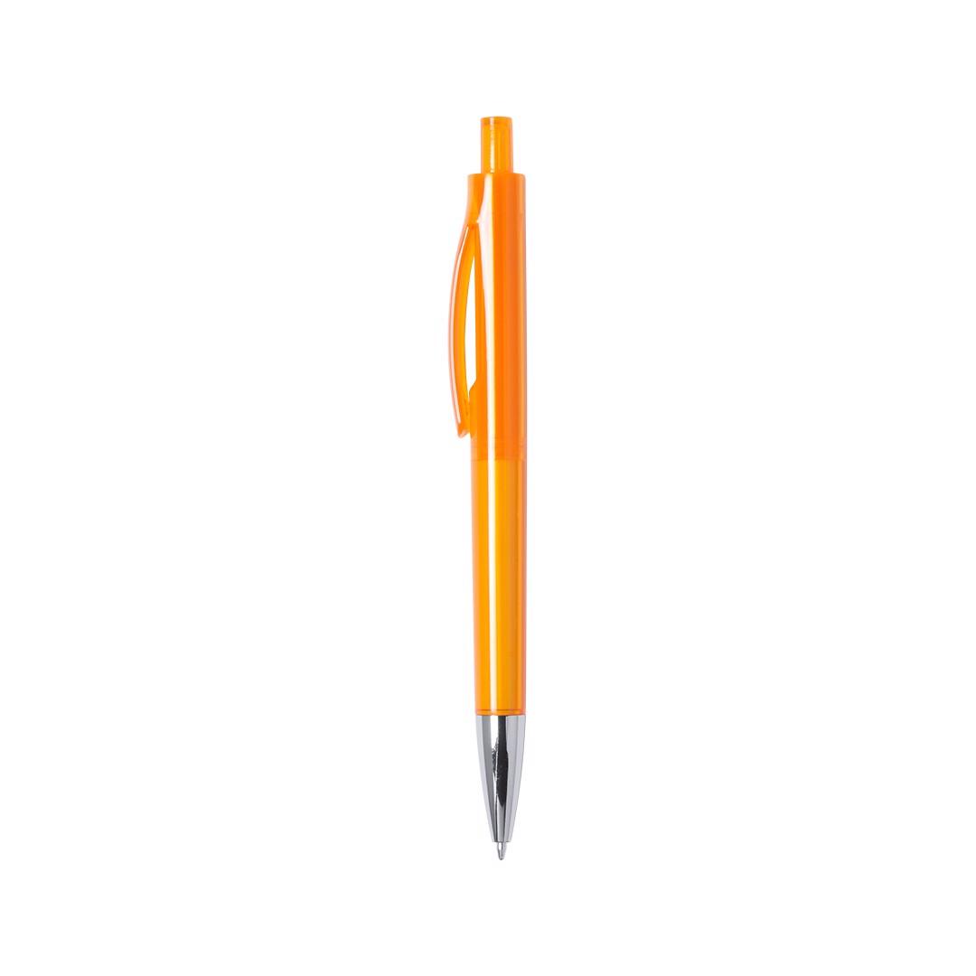 Bolígrafo Velny - Naranja
