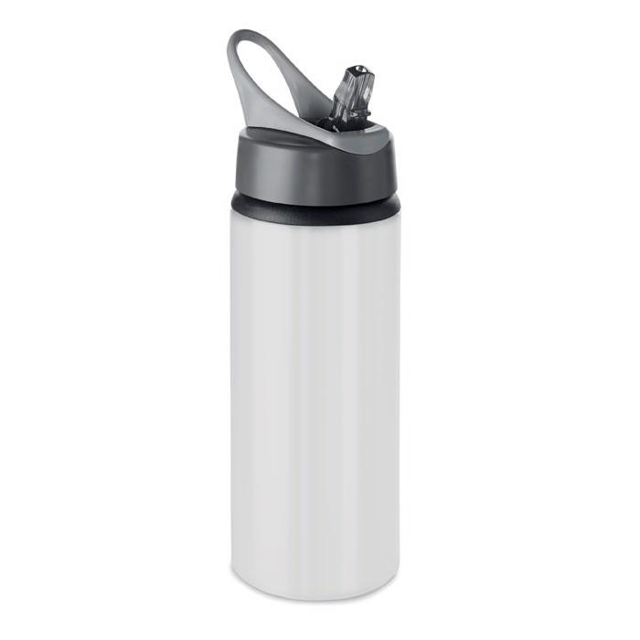 Butelka z aluminium 600 ml Atlanta - biały