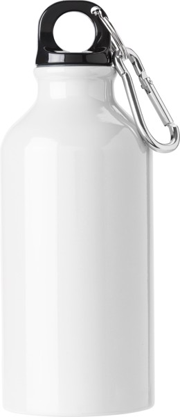 Aluminium bottle - White