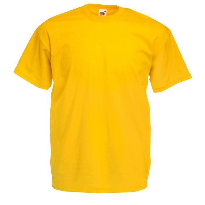 T-shirt 165 g/m² Value Weight T-Shirt 61-036-0 - Sonnenblumengelb / 3XL