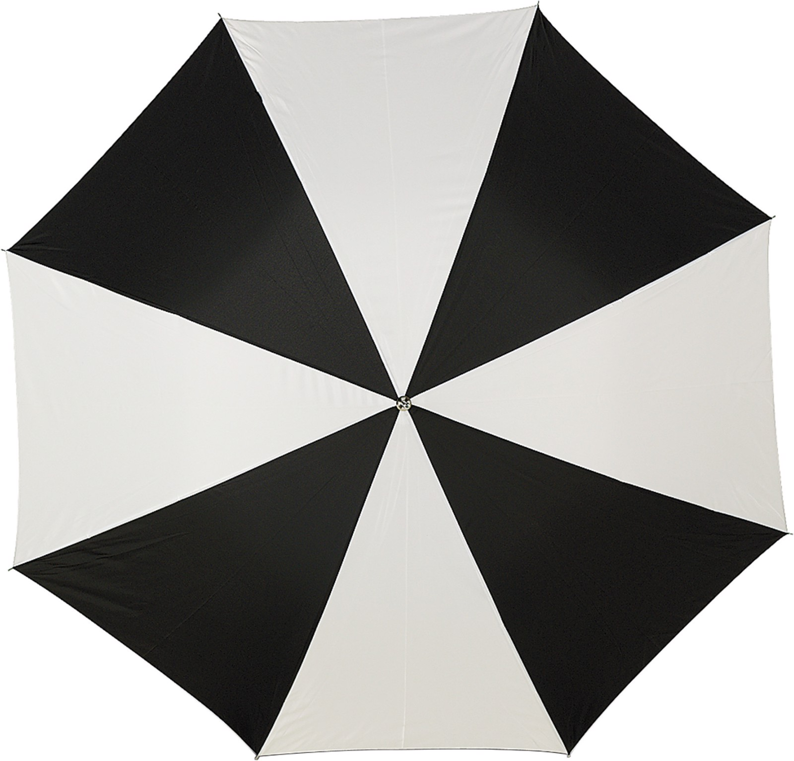 Polyester (190T) umbrella - Black / White