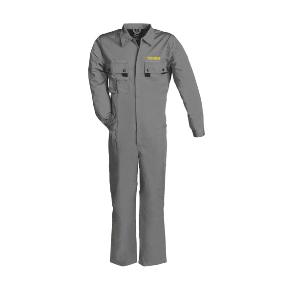 Sol's Solstice Pro Overall - Grey / XXL