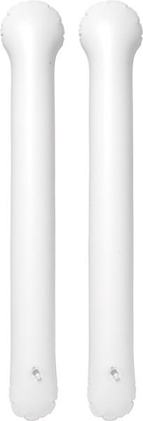 PVC thunder sticks - White