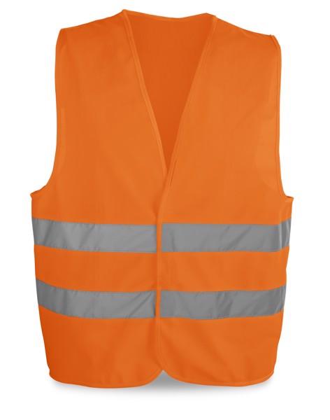 YELLOWSTONE. Chaleco de alta visibilidad - Naranja