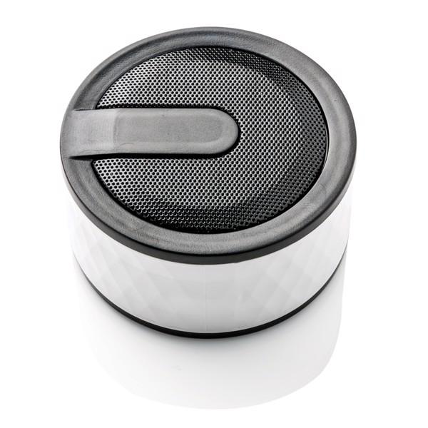 Geometrikus vezeték nélküli hangszóró - Fehér
