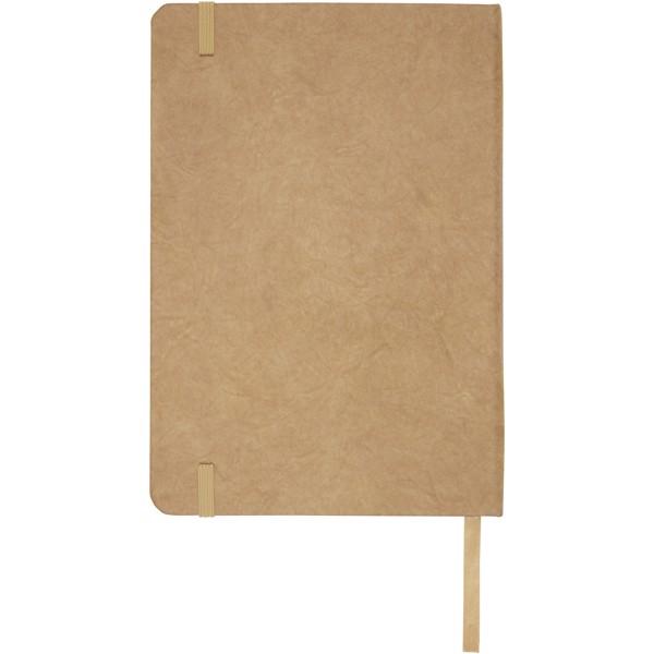 """Libreta de tamaño A5 de papel de piedra """"Breccia"""" - Marrón"""