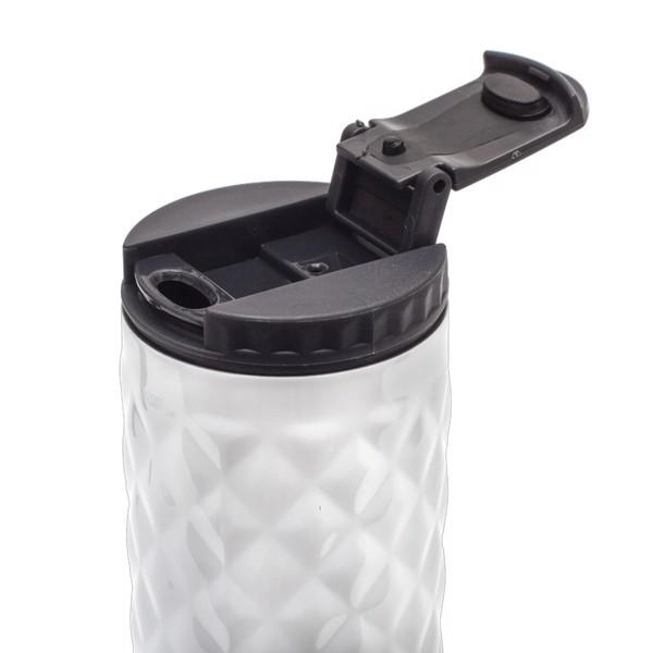 Kubek izotermiczny Dawson 450 ml - Biały