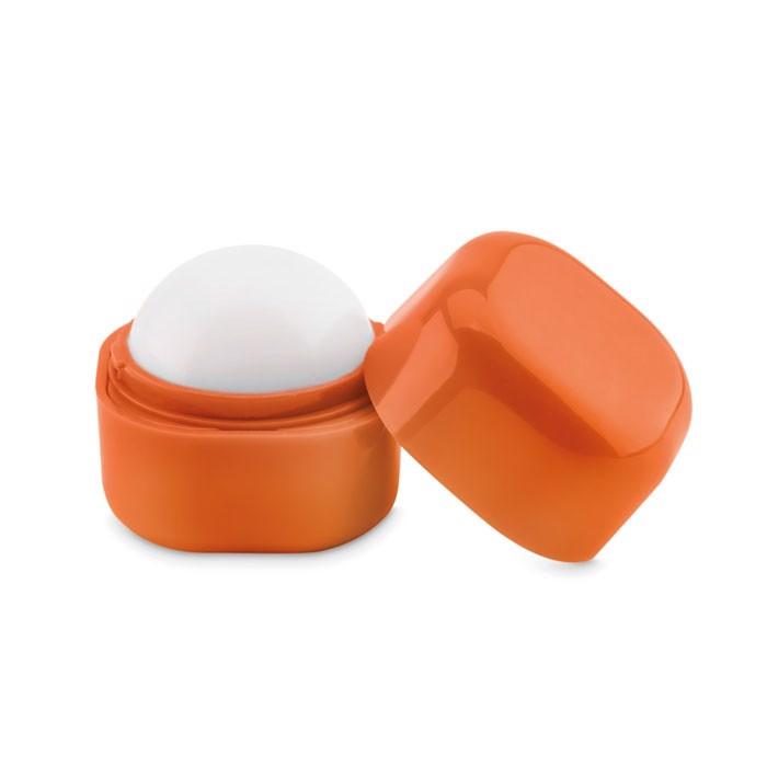 Lip balm in cube box Lips - Orange
