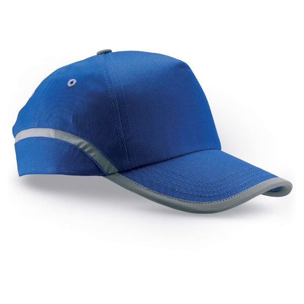 Cotton baseball cap Visinatu - Royal Blue