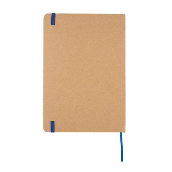 Kraftový poznámkový blok A5 - Modrá
