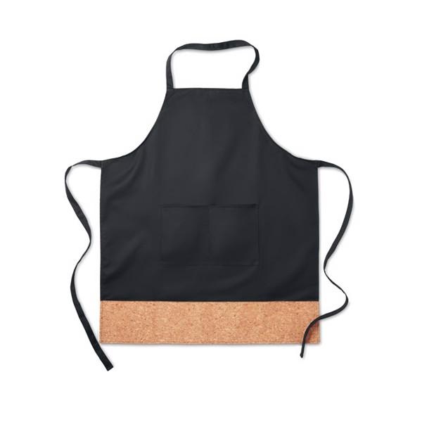 Küchenschürze mit Korkbesatz Kitab Cork