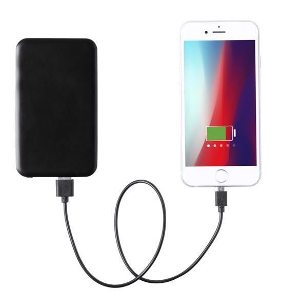 Polnilna baterija Kustol – črna