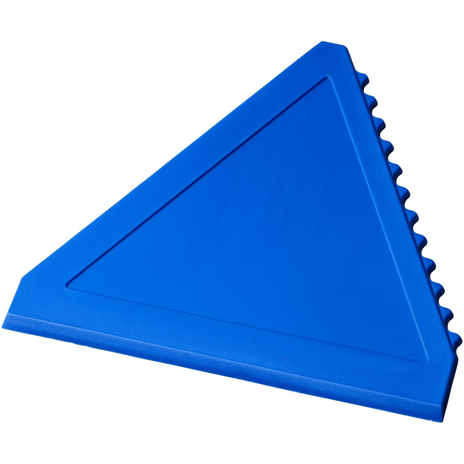 Trojúhelníková škrabka na led Averall - Modrá