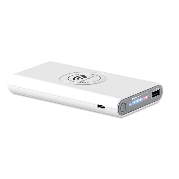 Wireless power bank Type C Vigor - White