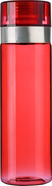 Tritan and PS bottle - Red