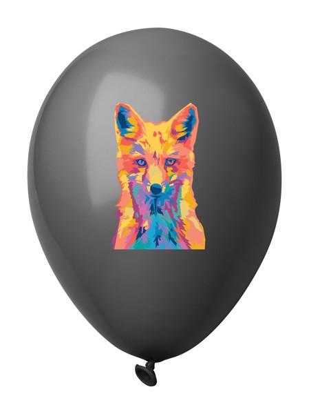 Balonky V Pastelových Barvách CreaBalloon - Černá