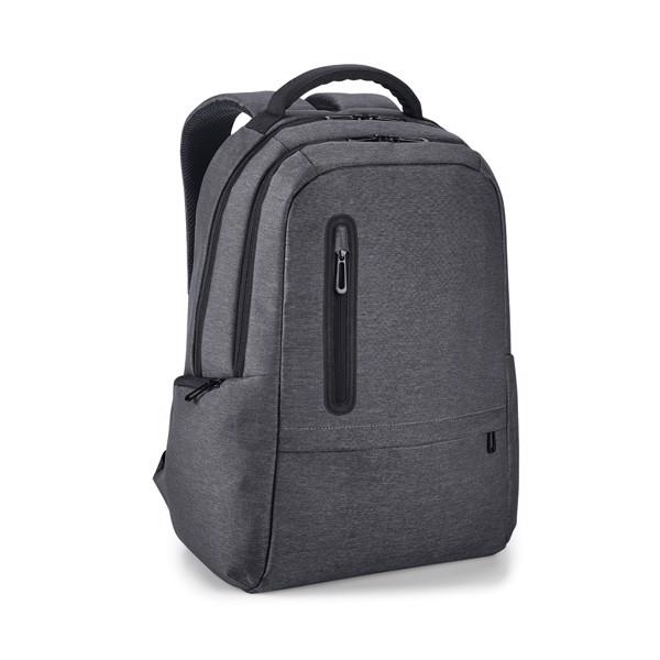 BOSTON. Σακίδιο laptop 17'' - Σκούρο Γκρι