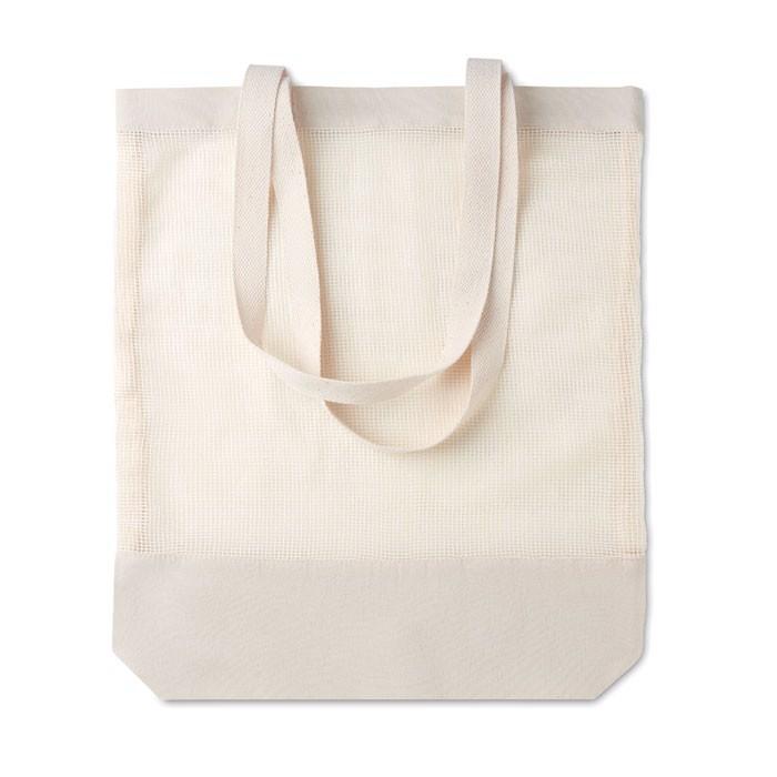 Nakupovalna torba iz mrežastega bombaža Mesh Bag