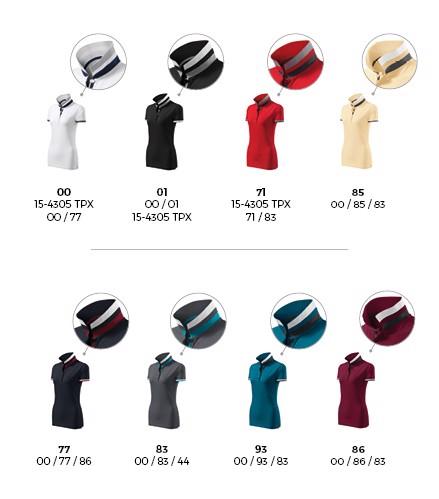 Polokošile dámská Malfinipremium Collar Up - Dark Navy / S
