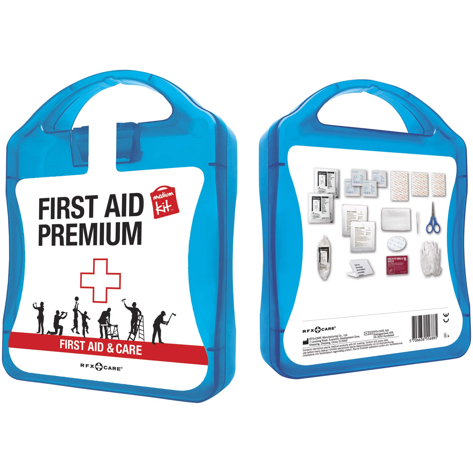 MyKit M First aid kit Premium - Blue