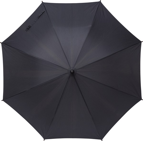RPET polyester (170T) umbrella - Black