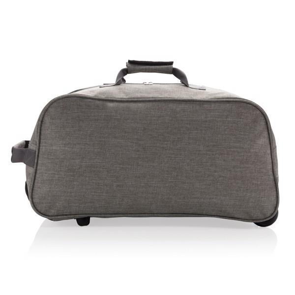 Basic hétvégi gurulós táska - Szürke