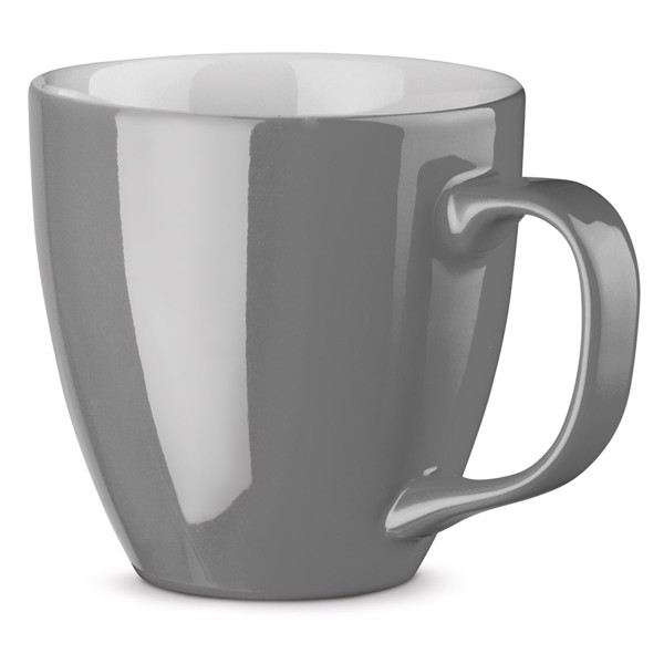 PANTHONY. Porcelain mug 450 ml - Grey