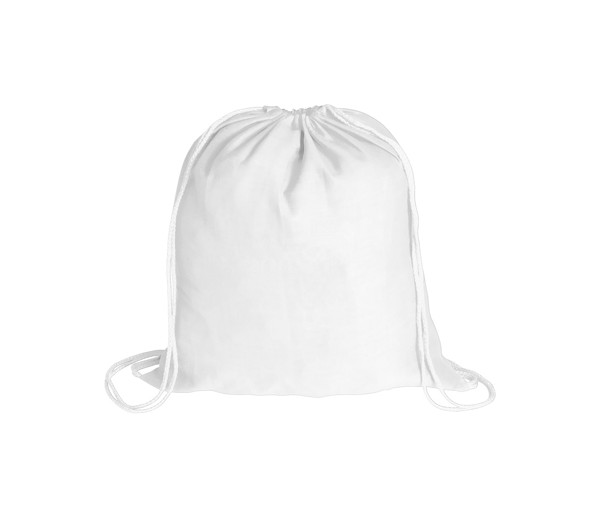 Drawstring Bag Bass - White