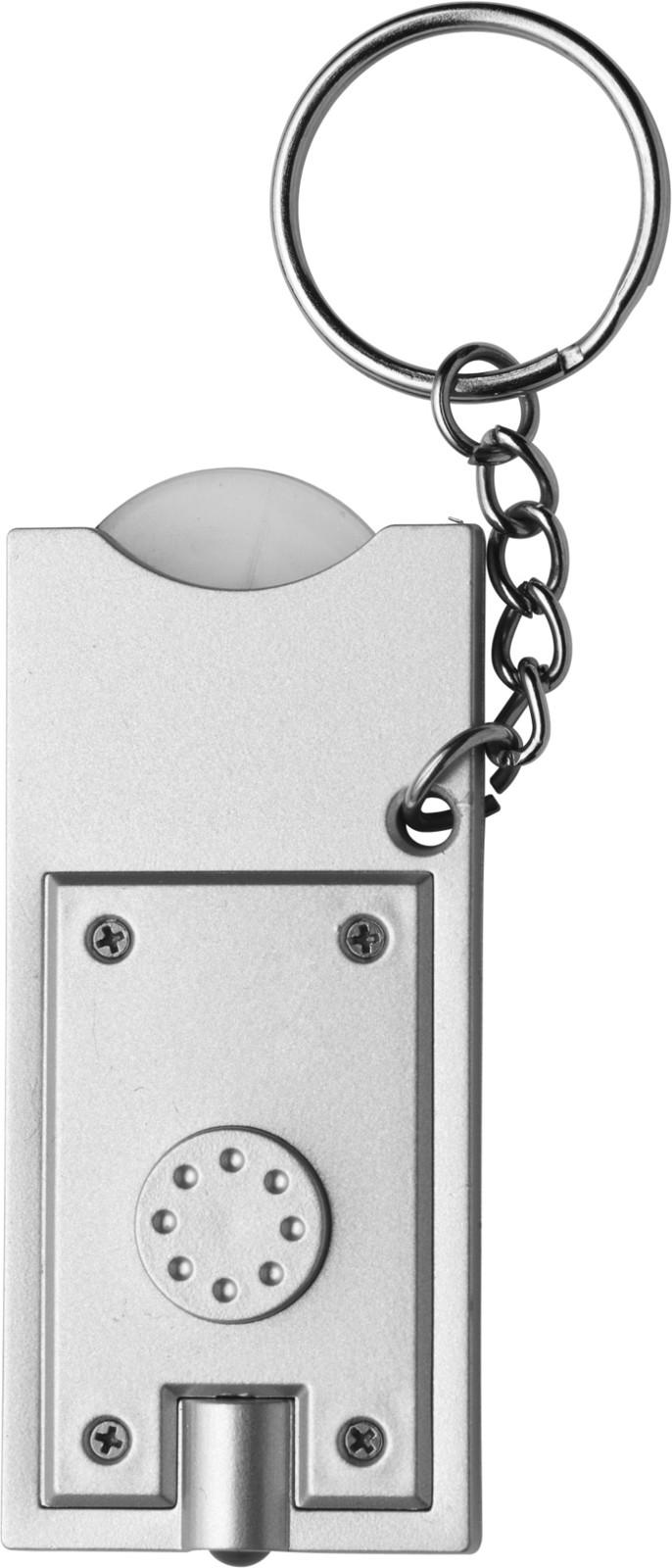 PS key holder with coin - Silver