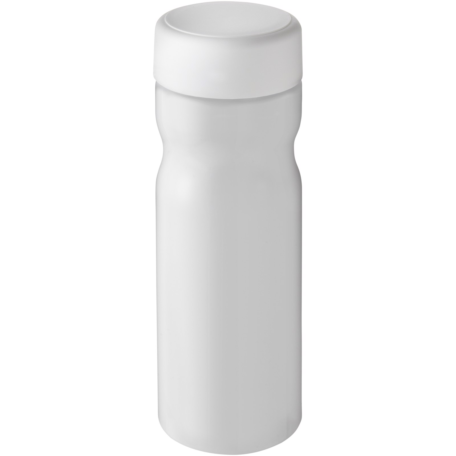 H2O Base 650 ml screw cap water bottle - White