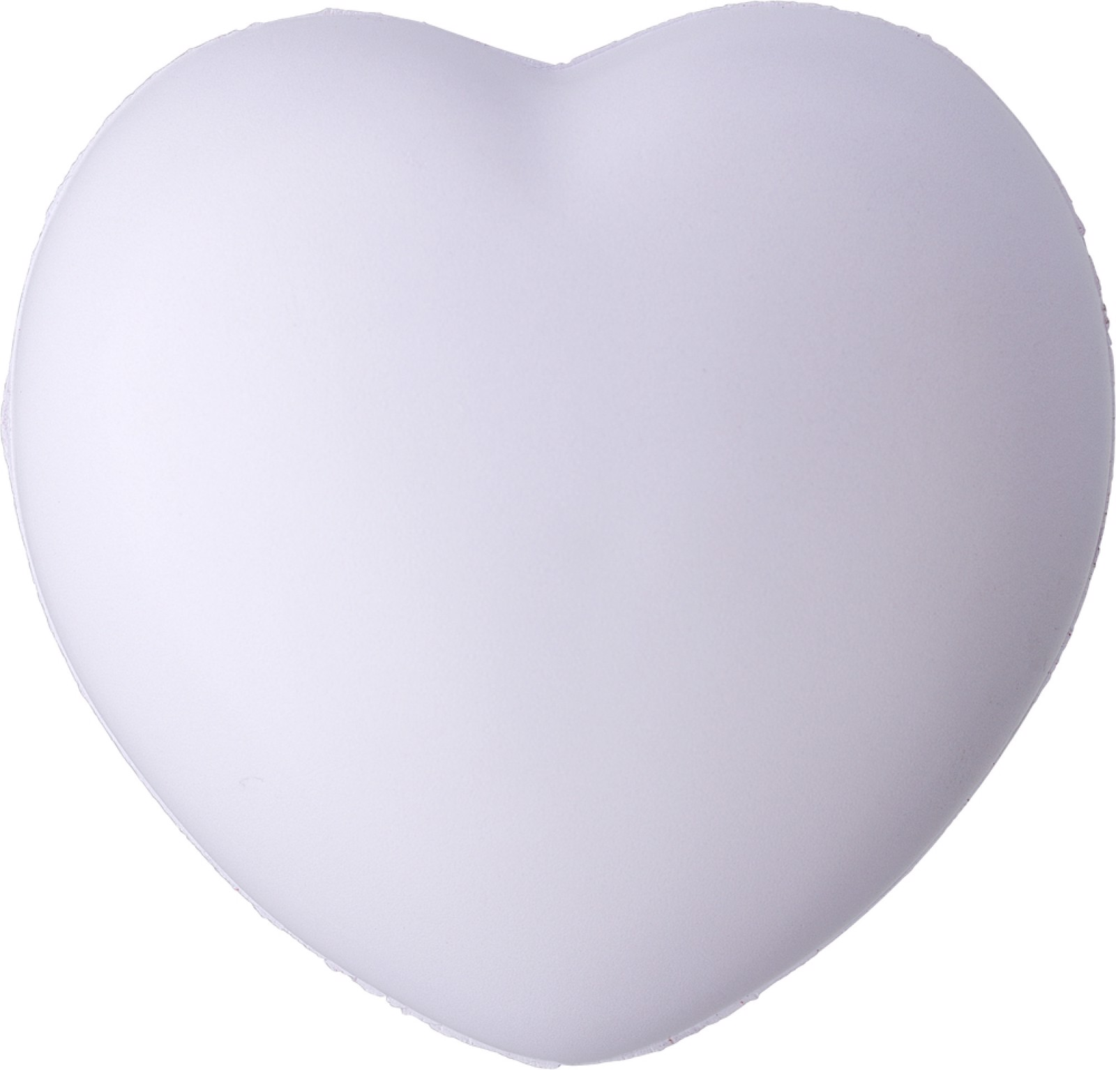 PU foam heart - White