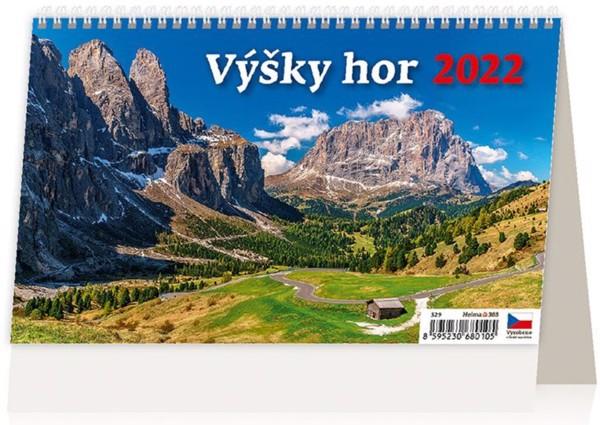 Týdenní kalendář Výšky hor 2022