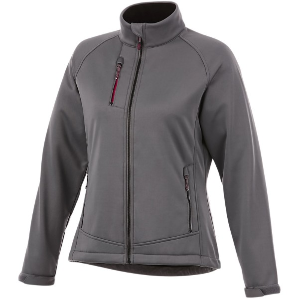 Chuck women's softshell jacket - Grey / XL