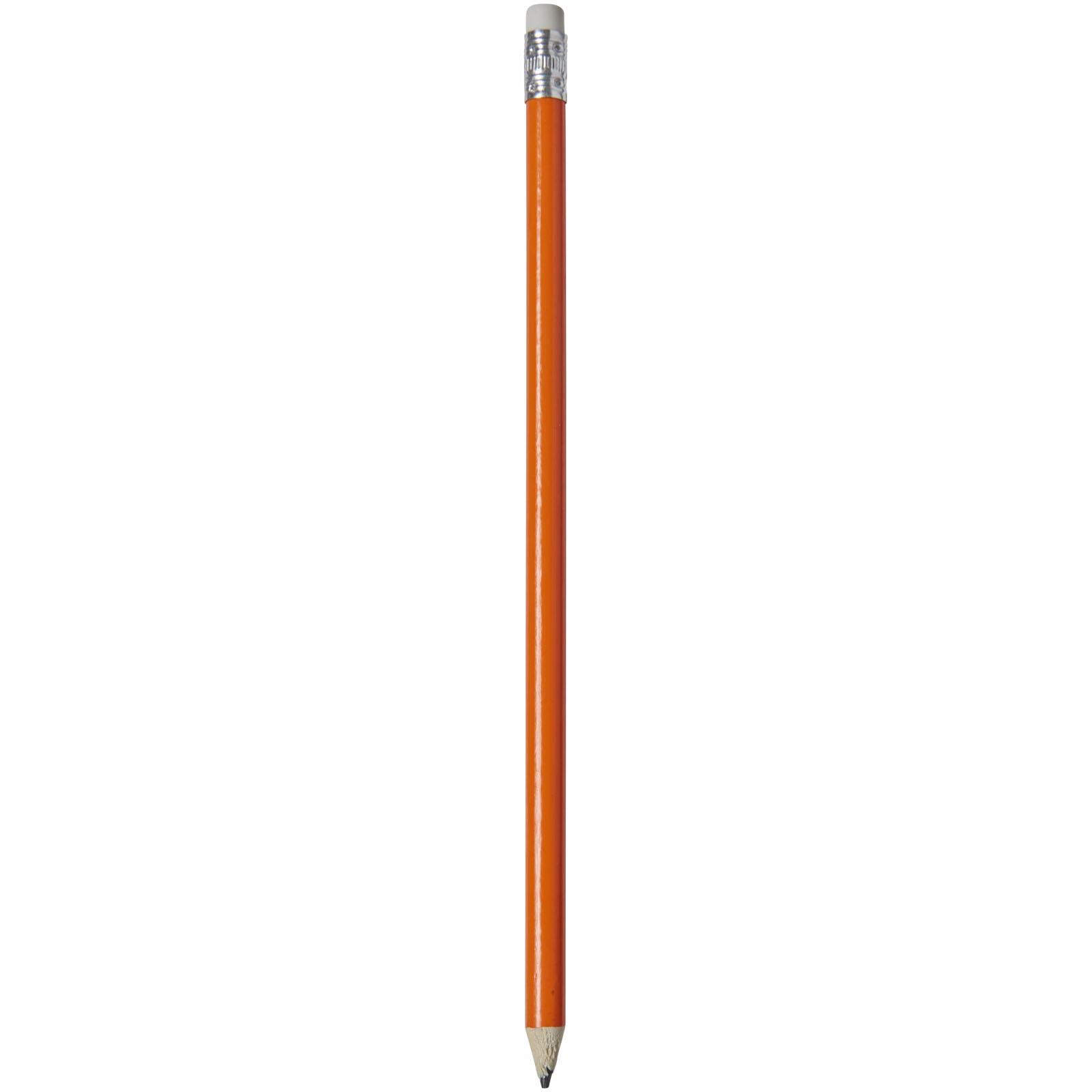 Ołówek z kolorowym korpusem Alegra - Pomarańczowy