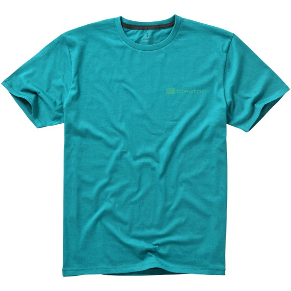 Nanaimo short sleeve men's t-shirt - Aqua / XS
