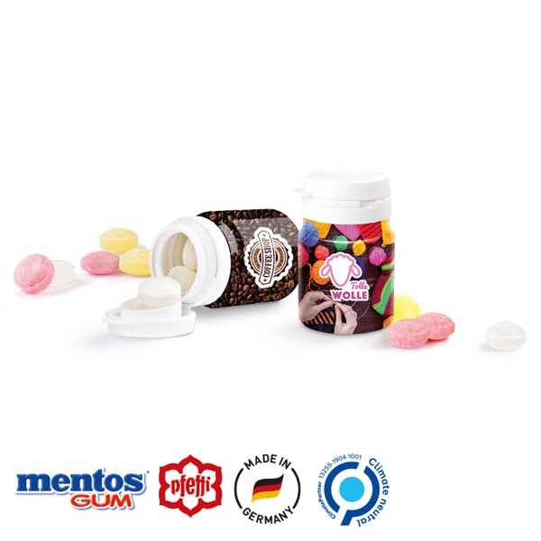 Top Can®, Mini Sweets Peppermint - White