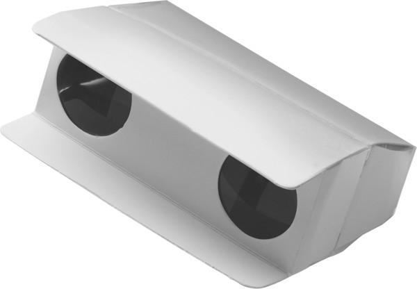 Cardboard binoculars - White