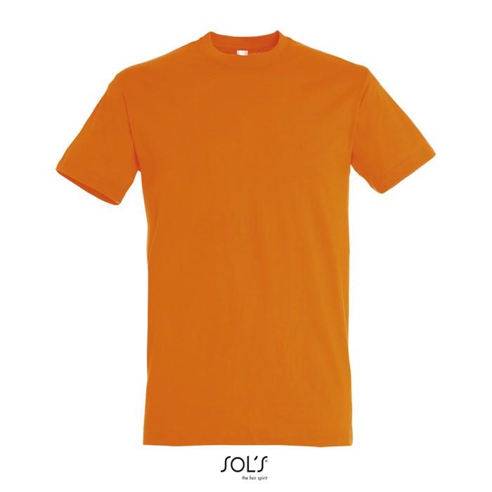 REGENT CAMISETA UNISEX 150g - Naranja / XXL