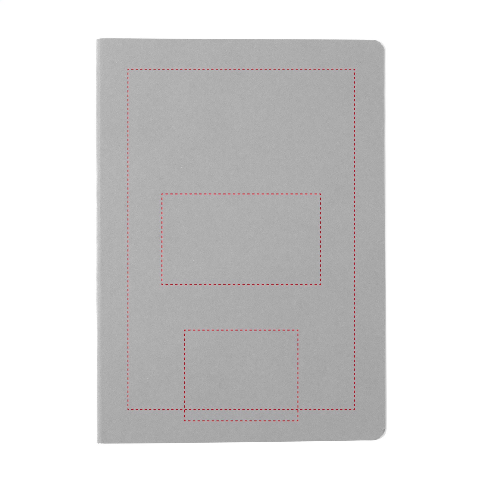 SoftCover Notebook - Red