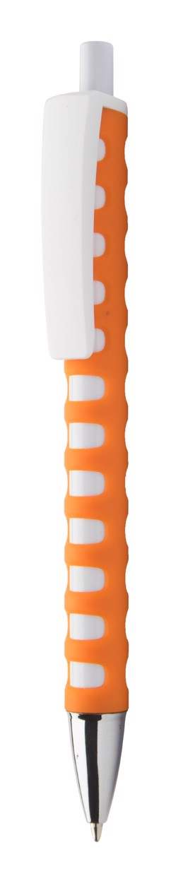 Kuličkové Pero Steady - Oranžová / Bílá