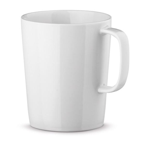 NELS WHITE. Porcelánový hrnek 320 ml