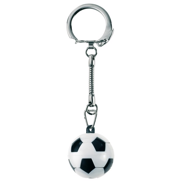 "Keyring ""Puzzle Football"""