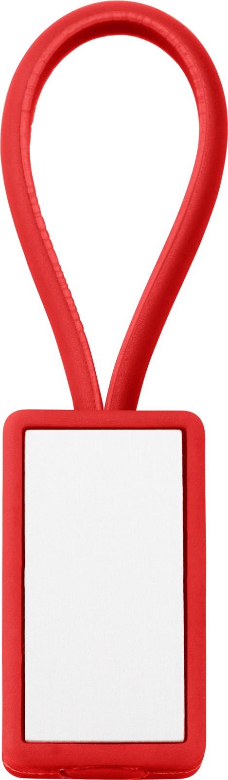 Plastic key holder - Red