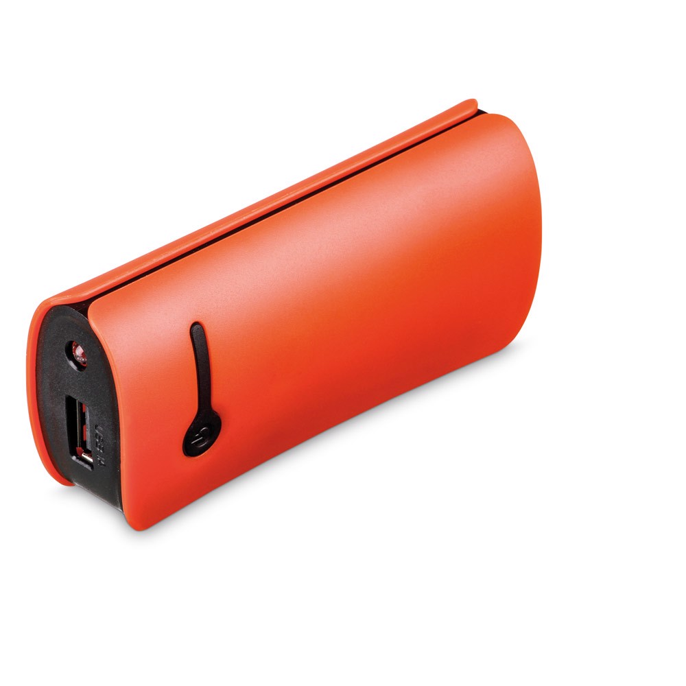 OPTIMUS. Portable battery - Πορτοκάλι